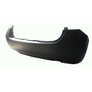 Replacement Bumper Cover for 14-17 Nissan Versa Note (Rear) NI1100294PP