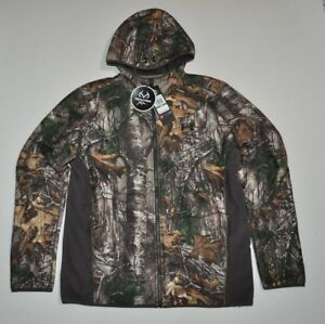 UNDER ARMOUR MEN'S LARGE UA STORM1 STEALTH FULL ZIP HOODIE CAMO HUNT NWT