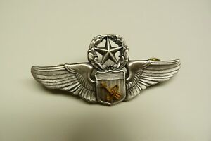 US MILITARY FLIGHT SURGEON BADGE ASTRONAUT DEVICE ARMY COMMAND WINGS -#1