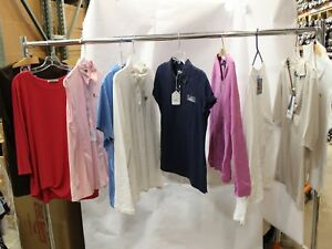 Lot of 50 Womens Golf Shirts Polos Sweaters Sport Haley Nike sz M XL MSRP $2500