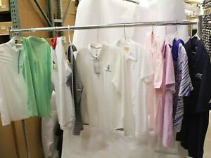 Lot of 50 Womens Golf Shirts Polos Sport Haley Adidas JoFit sz XL MSRP $2500