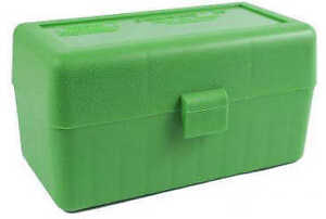 MTM Ammo Box 50 Round Flip-Top 243 308 Win 220 Swift Green RM-50-10