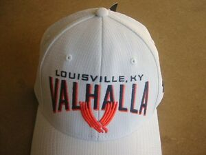 NEW WHITE VALHALLA GOLF CLUB UNDER ARMOUR HAT CAP FITTED SMMD SM FREE SHIPPING