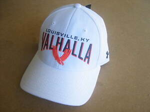 NEW WHITE VALHALLA GOLF CLUB UNDER ARMOUR HAT CAP FITTED SMMD SM LOUISVILLE KY