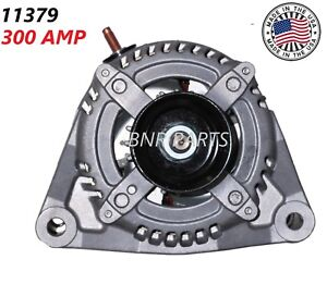 300 AMP 11379 Alternator RAM 2500 3500 4500 5500 NEW High Output HD 6.7L 08-16