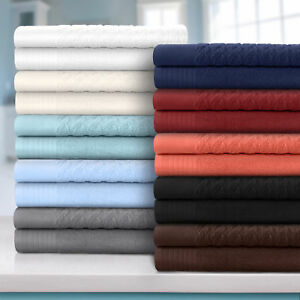 Superior 100 Turkish Cotton Cordage Patterned 8-Piece Towel Set
