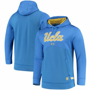 UCLA Bruins Under Armour 2017 Sideline Storm Armour Performance Hoodie - Blue