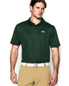 New Mens Under Armour Muscle Golf Polo Shirt All Sizes All Colors $29.79