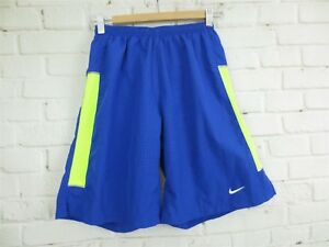 Men's NIKE DRI FIT RUNNING Shorts w Liner Size SMALL