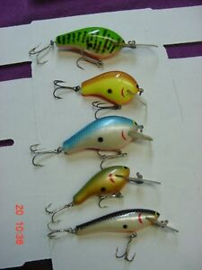 5 Bagley's ? Fishing Lures