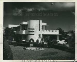 1946 Press Photo One of many modern homes built in San Juan just before the war