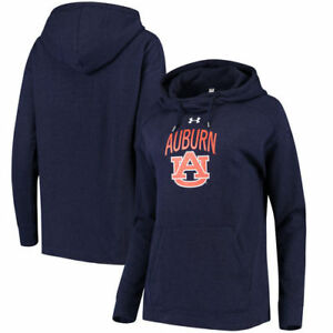 Auburn Tigers Under Armour Women's Sport Style Tri-Blend Pullover Hoodie - Navy