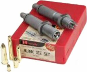 Hornady 2 Die Set Blank Cartridge .22 to .45 Caliber 544591