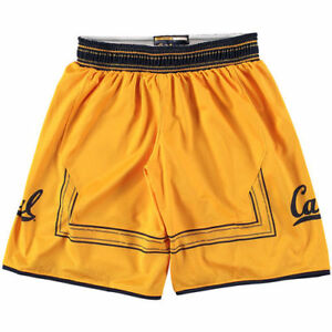Cal Bears Under Armour Youth Replica Basketball Performance Shorts - Gold