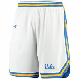 UCLA Bruins Under Armour Performance Replica Basketball Shorts - White