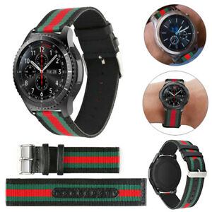 Leather Replacment Band Genuine leather for Samsung Gear S3 Frontier/Classic