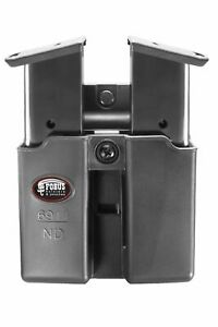 Fobus Double Mag Pouch 9mm Single Stack w Tension Adj. Screw Kimber : 6911NDBH
