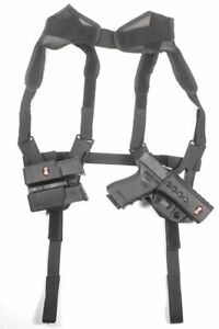 Fobus Shoulder Harness, Black, one-size, KTFSHR Holster