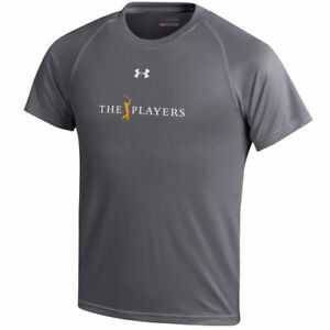 THE PLAYERS Under Armour Youth Tech Performance T-Shirt - Charcoal