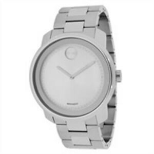 Movado 3600257 Bold Steel Bracelet Men's Quartz Swiss Watch