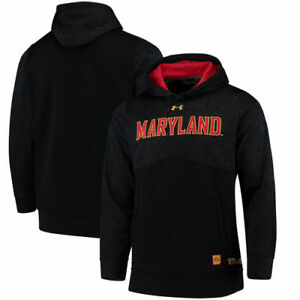 Maryland Terrapins Under Armour 2017 Sideline Storm Armour Performance Hoodie -