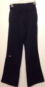 Women's Under Armour Storm Semi Fitted Soft Lined Track Pants XS Breast Cancer