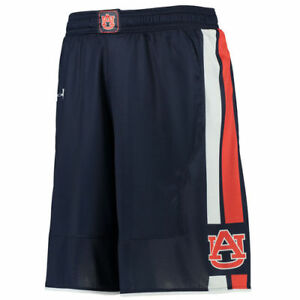 Auburn Tigers Under Armour Replica Basketball Shorts - Navy