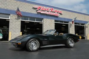 1972 Chevrolet Corvette Ask About Free Shipping! LS5 Convertible 1972 Chevrolet Corvette LS5 Convertible Numbers Matching Motor 4 Speed