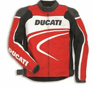 Ducati Dainese C2 Sport Leather Jacket New 2015 Men's