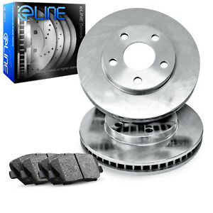 Front eLine Replacement Brake Rotors & Ceramic Brake Pads FEB.48051.02