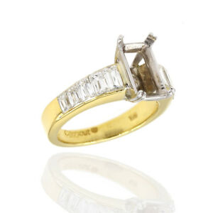 Christopher Designs Crisscut® Diamond Mounting Featured in 18K Yellow Gold  JH