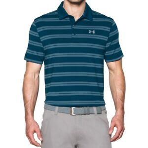 New Mens Under Armour Muscle Golf Polo Shirt Small Medium Large XL 2XL 3XL $29.79