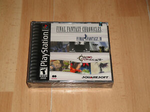 FINAL FANTASY CHRONICLES CHRONO TRIGGER + FF IV FOR SONY PS1 NEW FACTORY SEALED