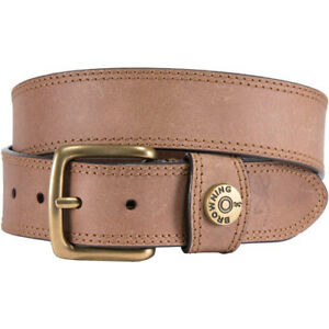 BROWNING A000293538  LEATHER BELT 38