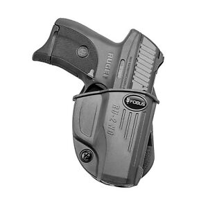 Fobus Evolution Paddle Holster-Ruger EC9s/LC380/LC9/LC9s Pro RU2ND