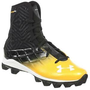 Under Armour Youth Highlight Boys Football Shoes RM BlackGold