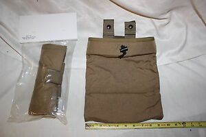 US Military Issue Specter Gear  Magazine Recovery Dump Pouch Coyote Lot of 5