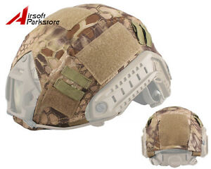 Emerson Tactical Helmet Cover HLD Camo for Ops-Core BJPJMH Fast Helmet Airsoft
