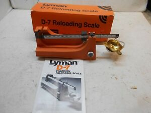 new Lyman mo-D-7 reloading scale hunting shooting reloading