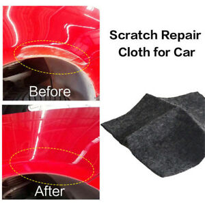 1-4PCS Amazing Car Scratch Eraser Finish Polishing Repair Magical Cloth Fast FiX