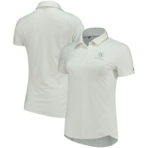 TPC Las Vegas Under Armour Women's Leader Performance Polo - White