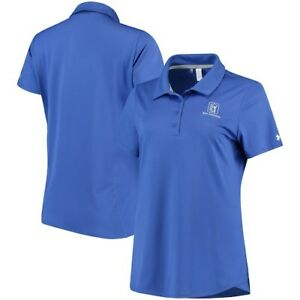 TPC San Antonio Under Armour Women's Leader Performance Polo - Blue