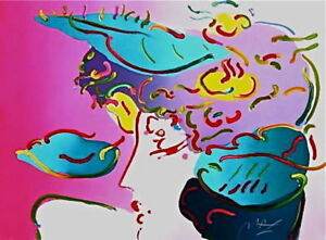 Flower Spectrum Limited Edition Lithograph Peter Max - LARGE