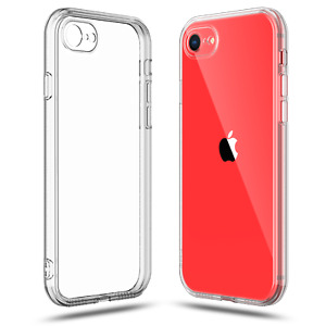 Case for iPhone SE 2nd Generation 2020 7 and 8 Clear Transparent TPU Soft $6.99