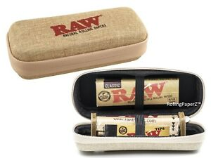 New RAW CONE WALLET ZIPPER CASE 1 1 4 Classic Papers Rolling Machine Tips