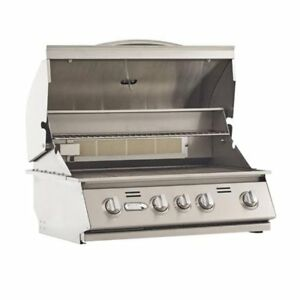 Bullet Outdoor Kitchen Built In 4 Burner Stainless Steel Natural Gas Grill