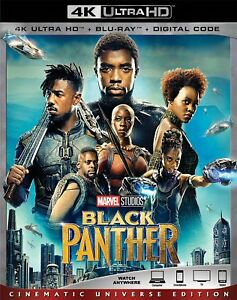 Black Panther (4K Ultra HD Blu-ray Disc ONLY 2018)