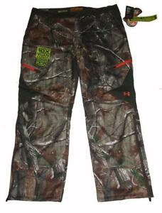 Under Armour Cold Gear REALTREE Camo Scent Control Pants Mens 40x32 NWT $180