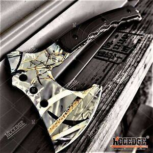 10.5quot; Military Survival Hunting Axe Hatchet Camping Gear Survival Kit Combat