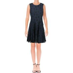 Tommy Hilfiger Womens Lace Mini Party Cocktail Dress BHFO 1554